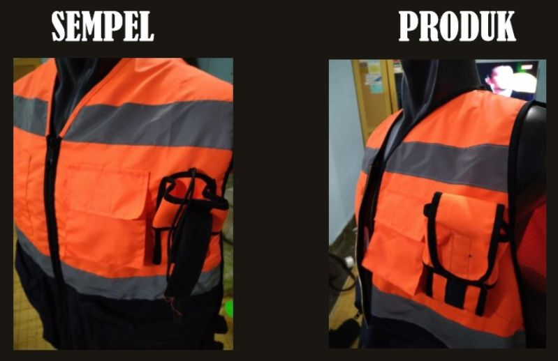 Jual Rompi Safety Bahan Taslan Latex di Kebon Jeruk